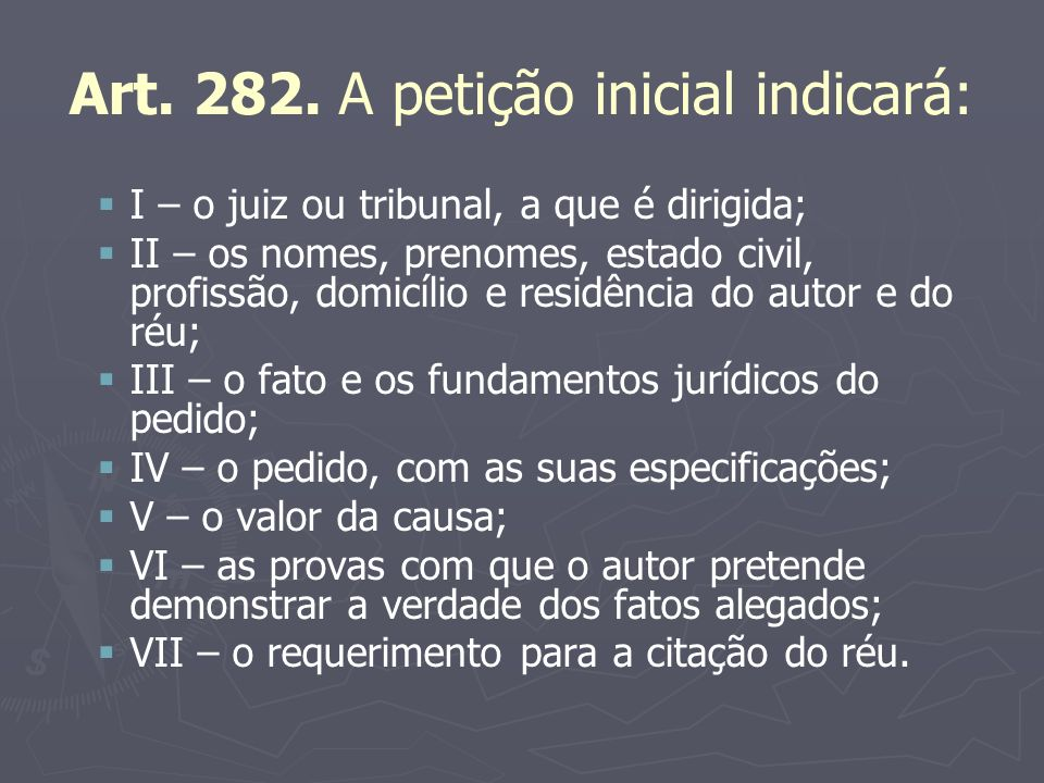 C) IMPROCEDÊNCIA DE PLANO Art.285-A.