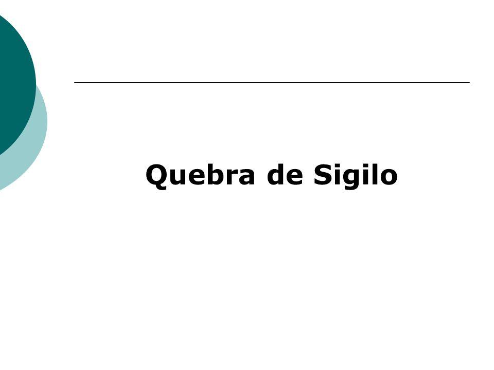 Quebra de Sigilo