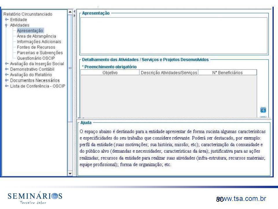 www.tsa.com.br 80