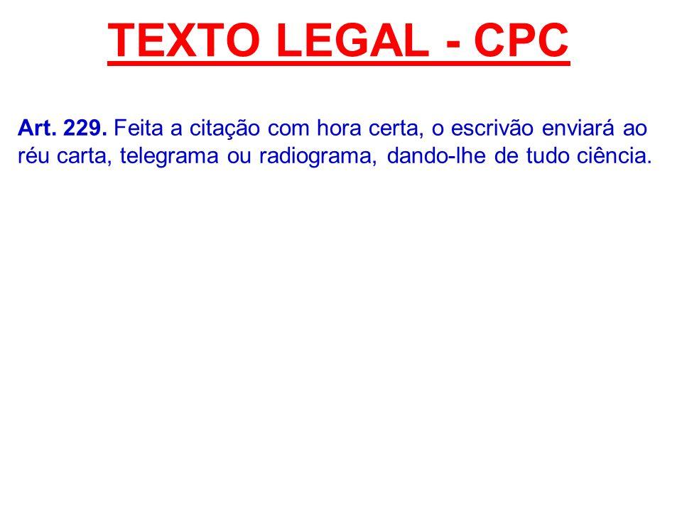 TEXTO LEGAL - CPC Art.229.
