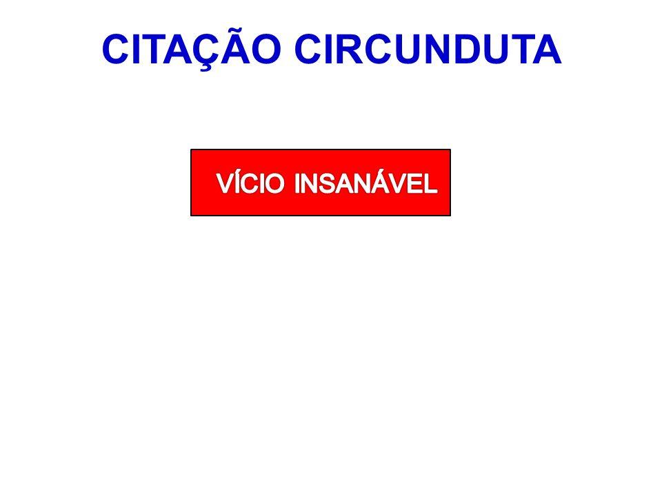 CITAÇÃO CIRCUNDUTA