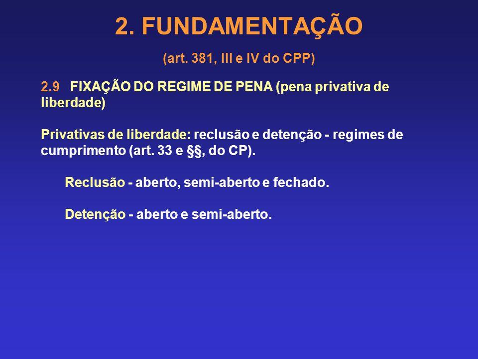 2. FUNDAMENTAÇÃO (art. 381, III e IV do CPP) 2.8.4 Terceira fase: Fixa-se o valor unitário do dia-multa, ou seja, a quanto corresponde pecuniariamente
