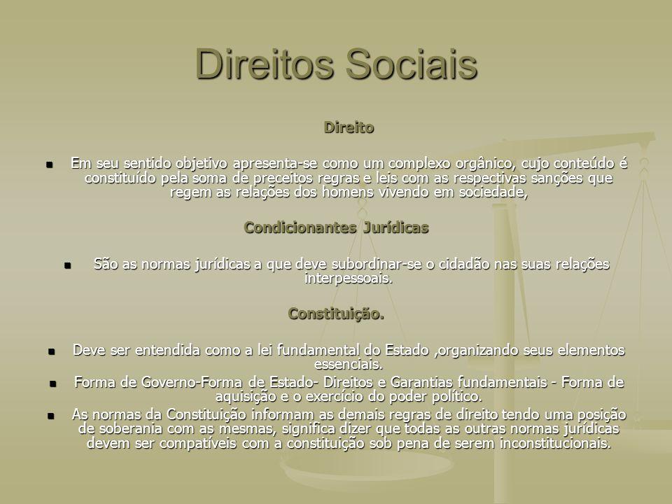 DIREITOS SOCIAIS Contrato de Trabalho Contrato de Trabalho É ato jurídico de conteúdo complexo trazendo efeitos obrigacionais a figura do empregado e a do empregador.