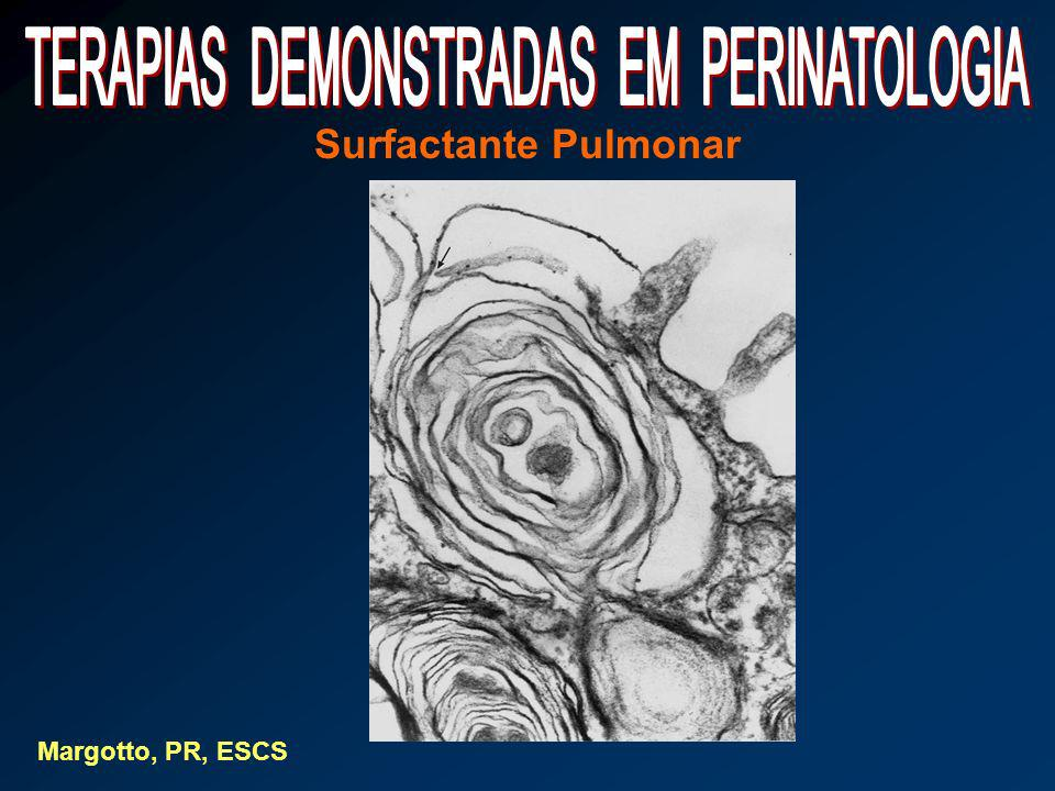 Surfactante Pulmonar Margotto, PR, ESCS
