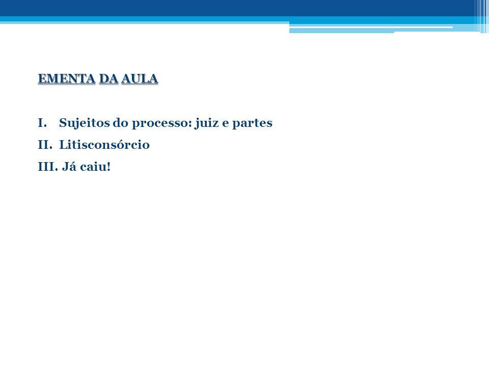 2.3 – Intervenção iussu iudicis( art.47, parágrafo único) 2.4 – Divisão do litisconsórcio (art.