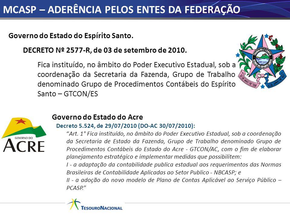 Governo do Estado do Acre Decreto 5.524, de 29/07/2010 (DO-AC 30/07/2010): Art. 1° Fica instituído, no âmbito do Poder Executivo Estadual, sob a coord