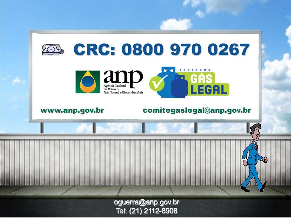 16 CRC: 0800 970 0267 www.anp.gov.br oguerra@anp.gov.br Tel: (21) 2112-8908 comitegaslegal@anp.gov.br