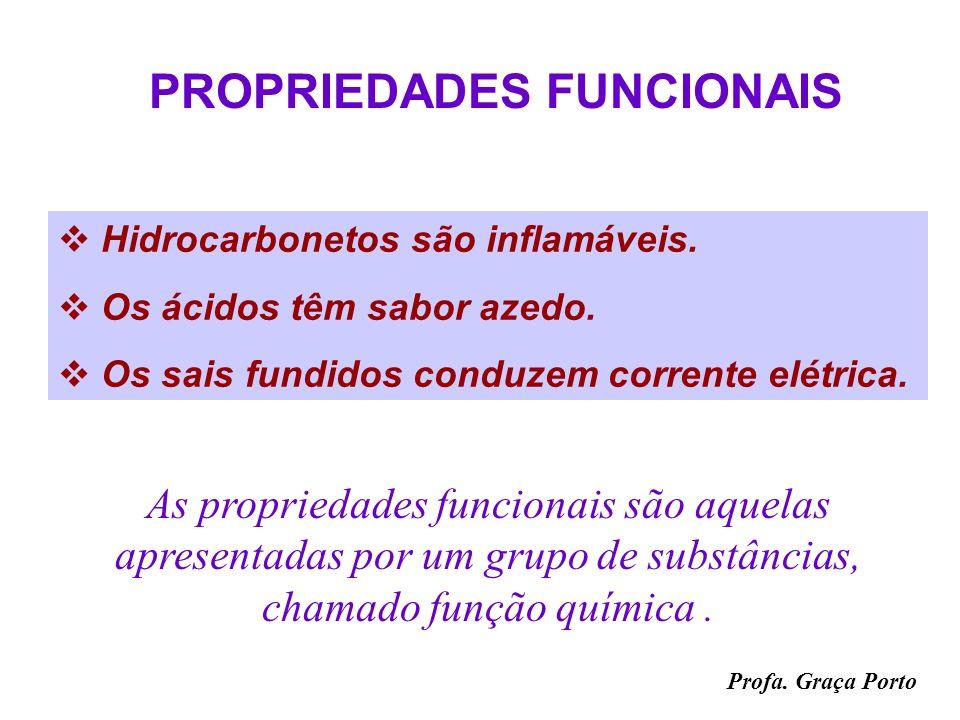 Profa. Graça Porto PROPRIEDADES GERAIS Massa Volume Inércia impenetrabilidade Dureza As propriedades gerais são comuns a todos os materiais.