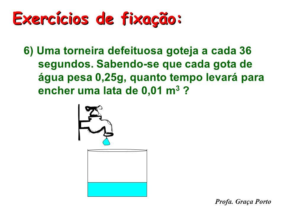 Profa. Graça Porto Exercícios de fixação: 5) (UFMG) As figuras abaixo representam densímetros como os usados em postos de gasolina. O primeiro contém