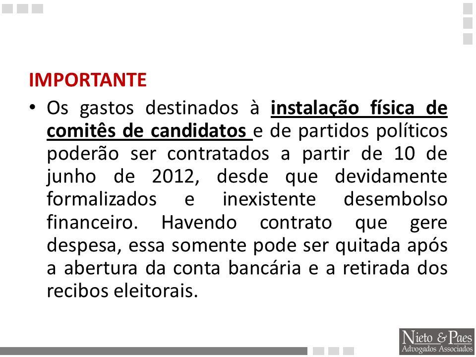Todos os candidatos, inclusive aqueles que renunciarem ou tiverem seu registro indeferido, deverão prestar contas até o dia 6 de novembro de 2012.