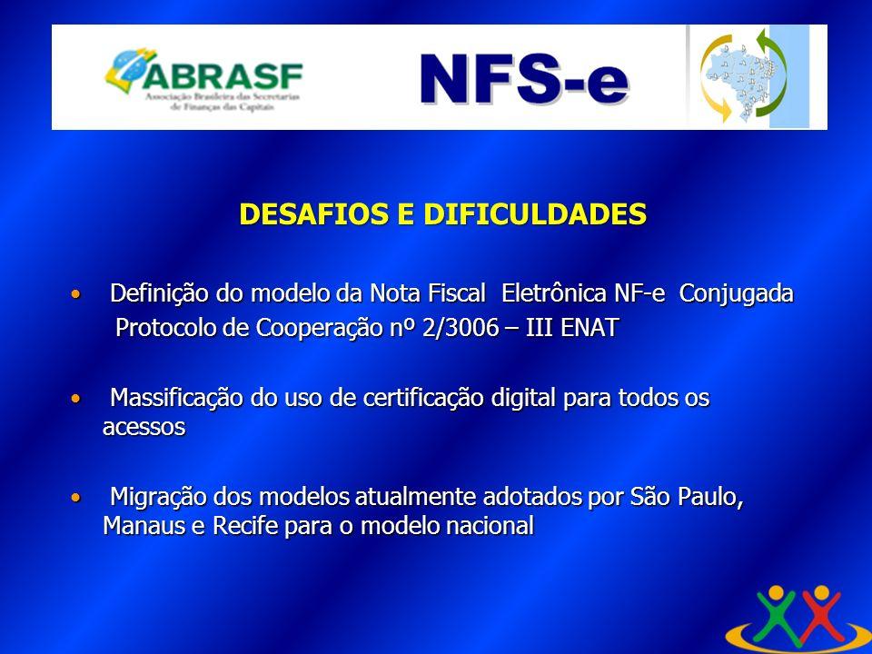 Definição do modelo da Nota Fiscal Eletrônica NF-e Conjugada Definição do modelo da Nota Fiscal Eletrônica NF-e Conjugada Protocolo de Cooperação nº 2