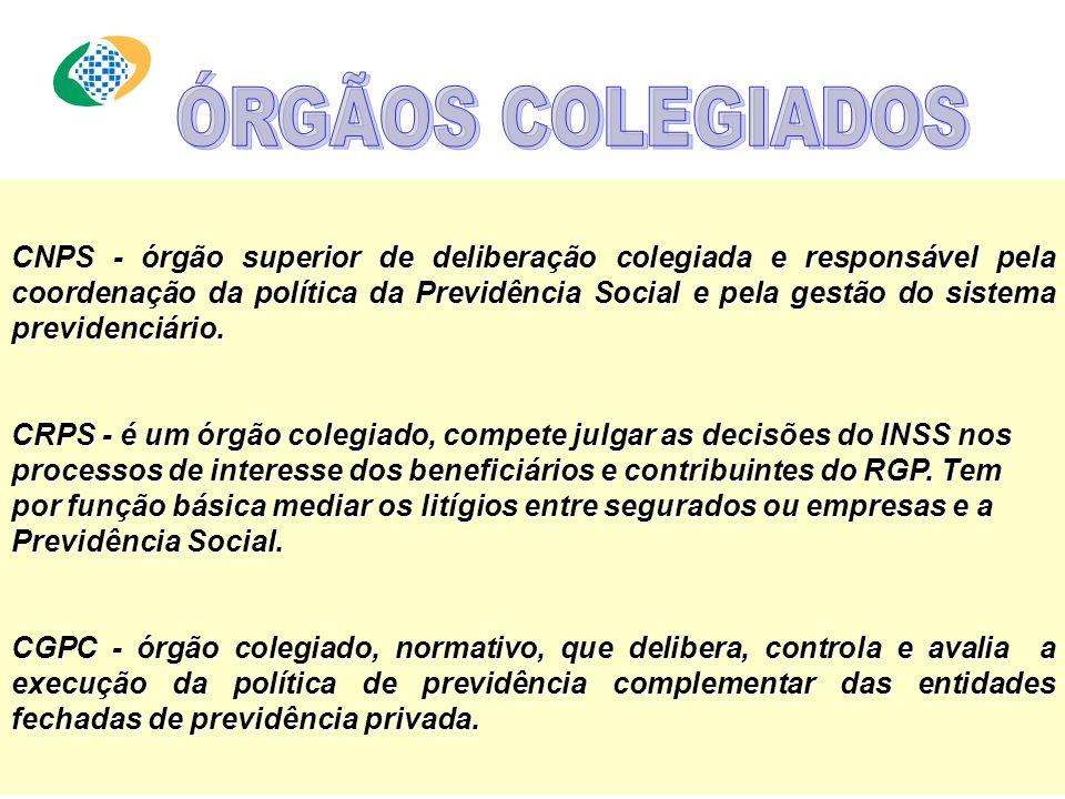Empresa pública, responsável por: processar o pagamento dos benefícios previdenciários e o recolhimento das contribuições sociais das empresas e dos c