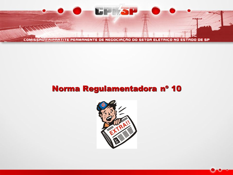 Norma Regulamentadora nº 10