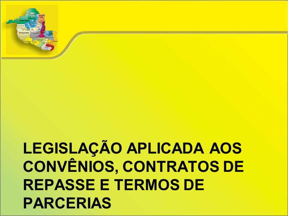 AGU – Orientação Normativa nº 29, de 15 de abril de 2010 A administração pública pode firmar termo de parceria ou convênio com as Organizações Sociais de Interesse Público - OSCIPS.