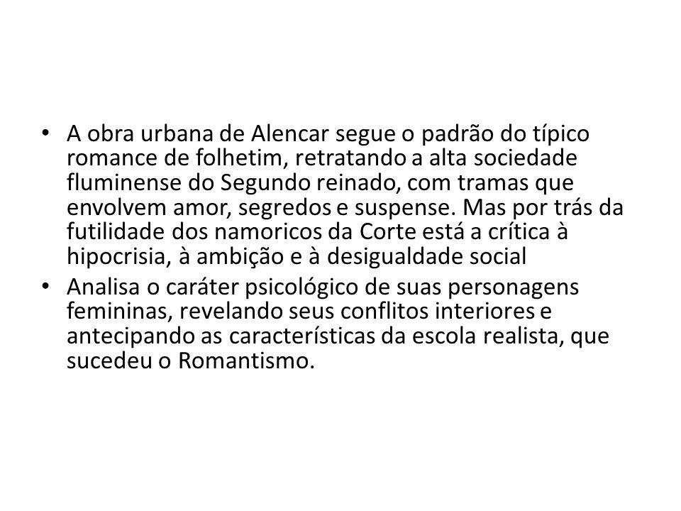 Romance histórico As minas de prata (1865); Alfarrábios (1873); Guerra dos mascates (1873).