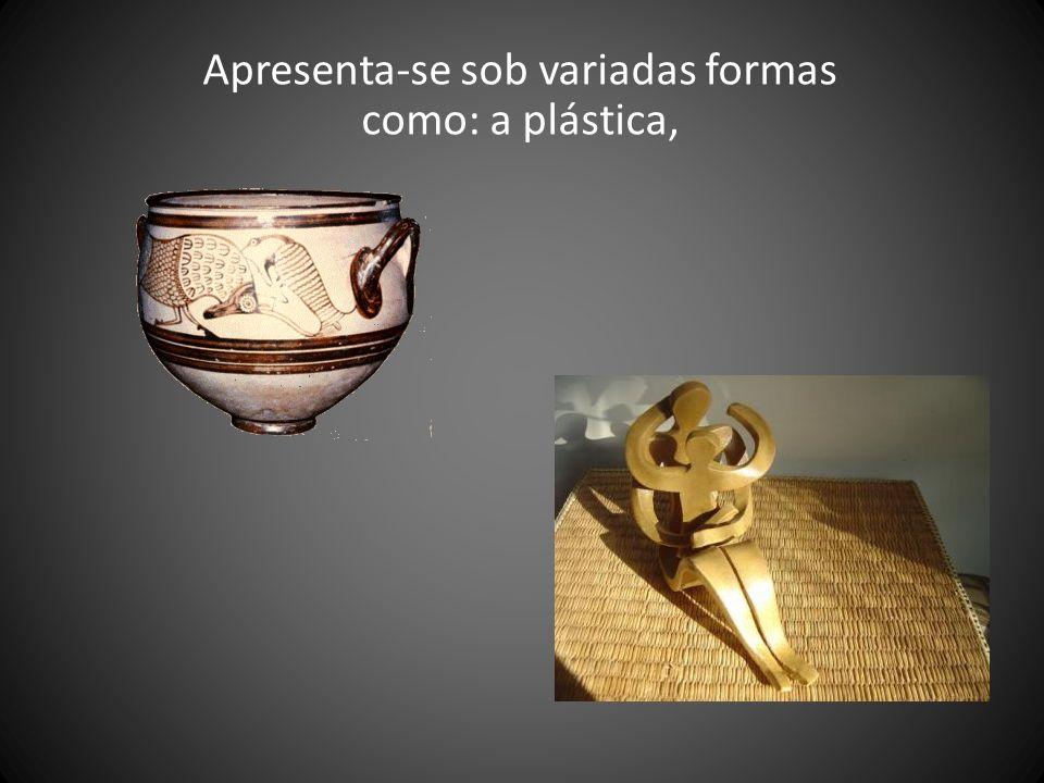 Apresenta-se sob variadas formas como: a plástica,