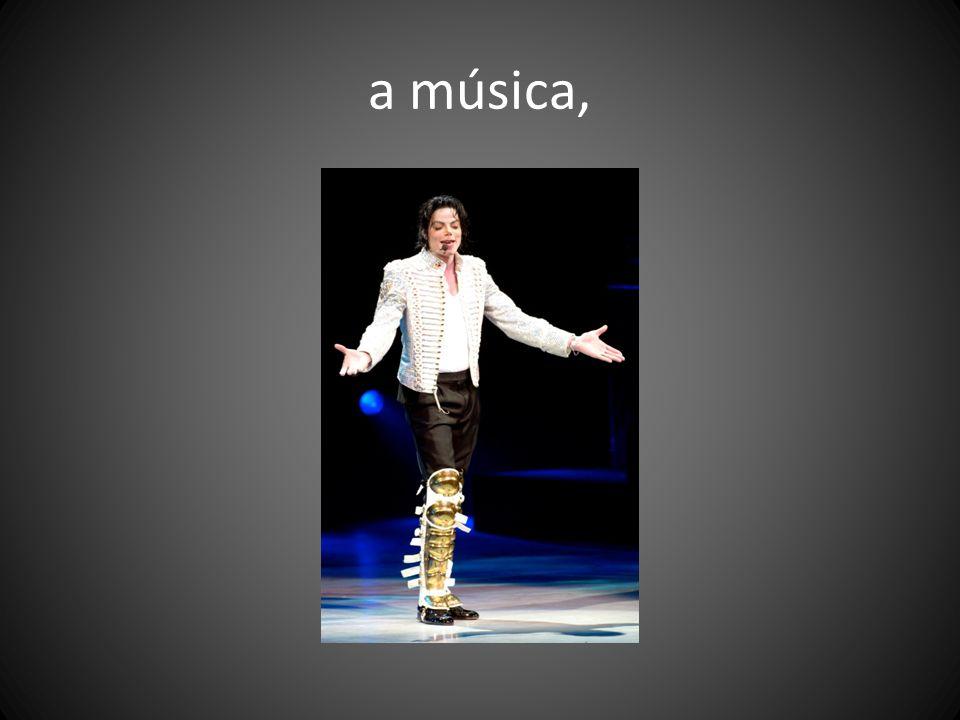 a música,
