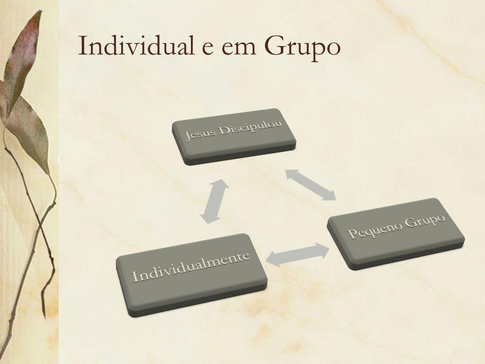 Individual e em Grupo