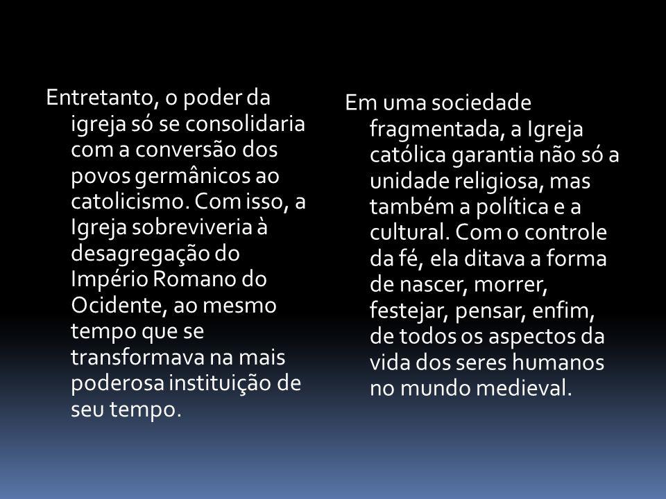 ORGANIZAÇÃO DO CLERO