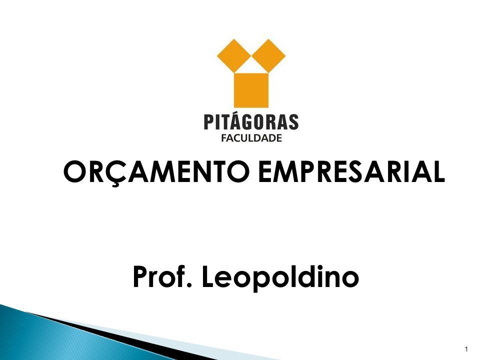 1 ORÇAMENTO EMPRESARIAL Prof. Leopoldino