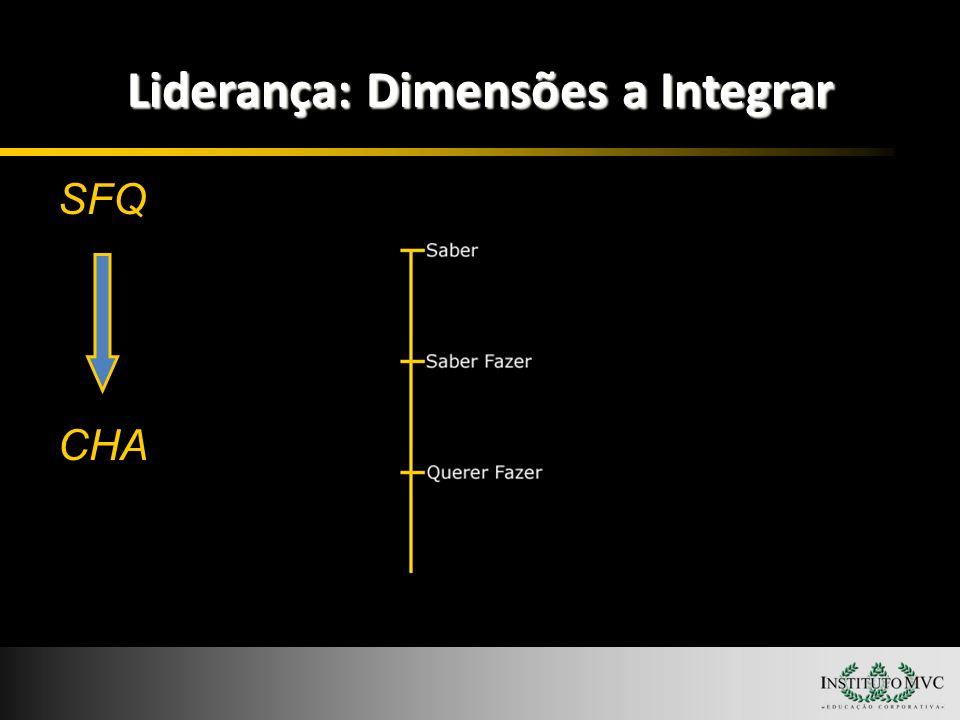 Liderança: Dimensões a Integrar SFQ CHA