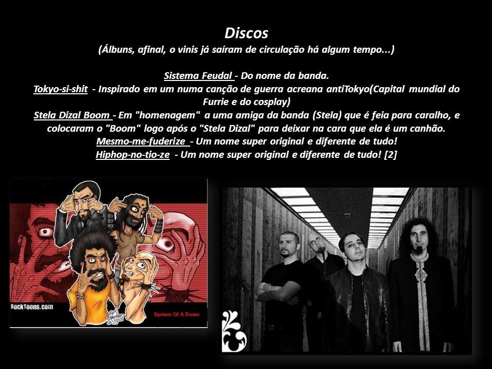 Serj Tankian Daron Malakian Shavo Odadjian John Dolmayan Integrantes Serj Tankian - filho de terrorista, técnico em bomba atomica, guitarrista,fisíco