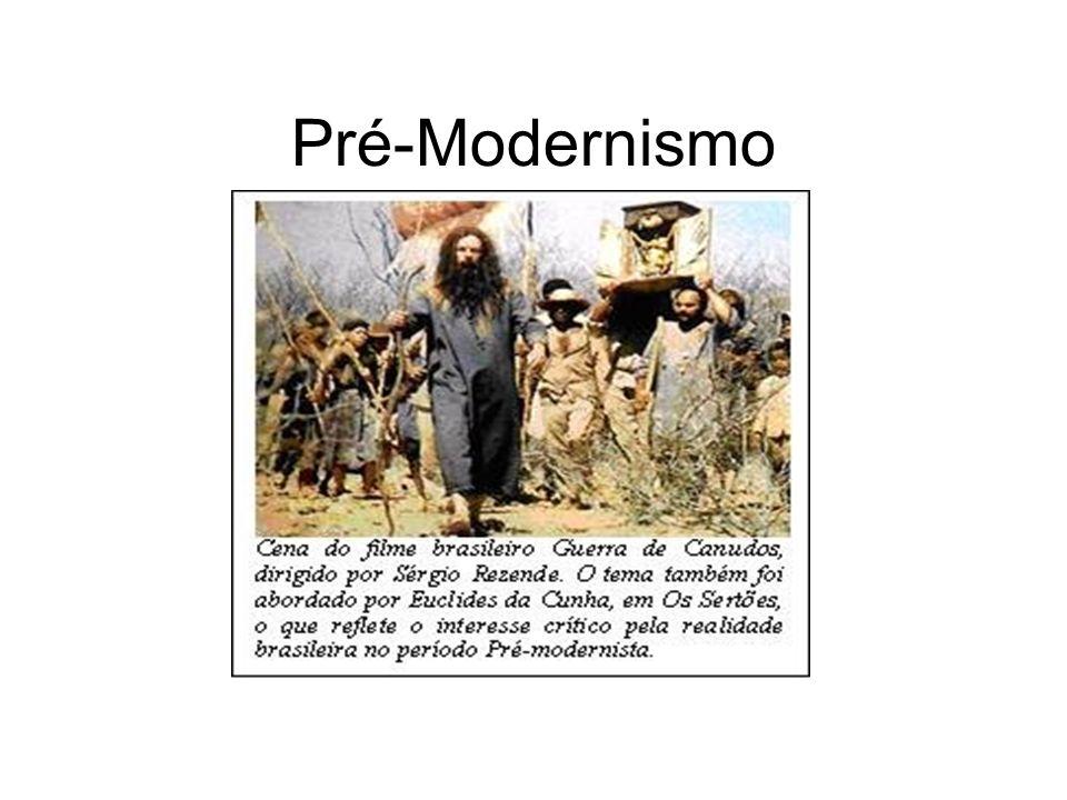 O Pré-Modernismo não pode ser considerado um escola literária, mas sim um período literário de transição do Realismo/Naturalismo para o Modernismo.