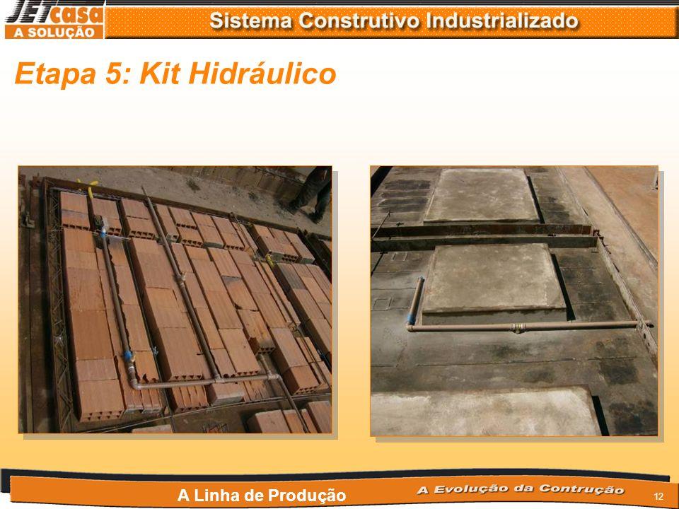 11 Etapa 4: Kit Elétrico A Linha de Produção