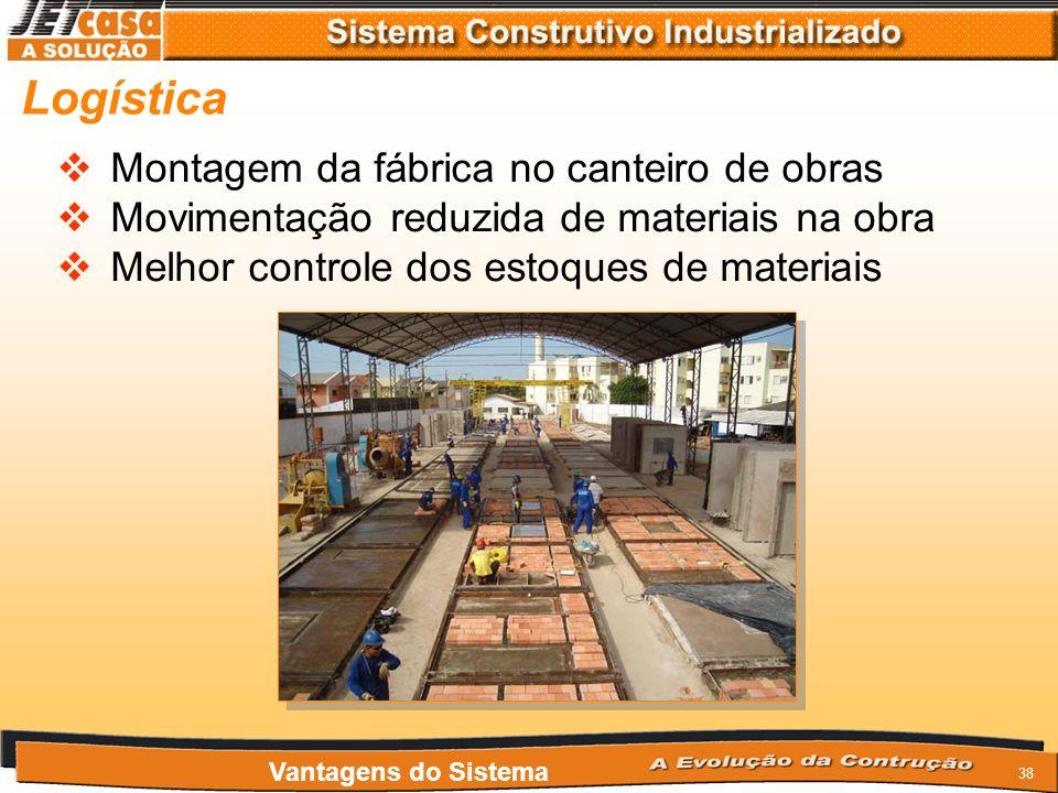 37 Materiais Utilização de materiais da construção civil convencional, que são amplamente difundidas e de fácil aquisição em todo o território naciona
