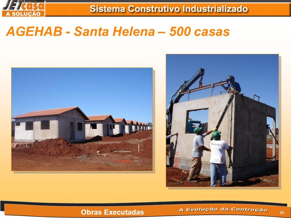 44 AGEHAB - Goiânia – 2000 casas Obras Executadas