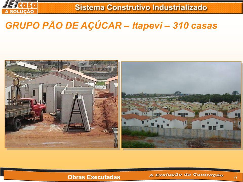 46 PDCA/CASTROVIEJO – Rio Verde – 800 casas Obras Executadas