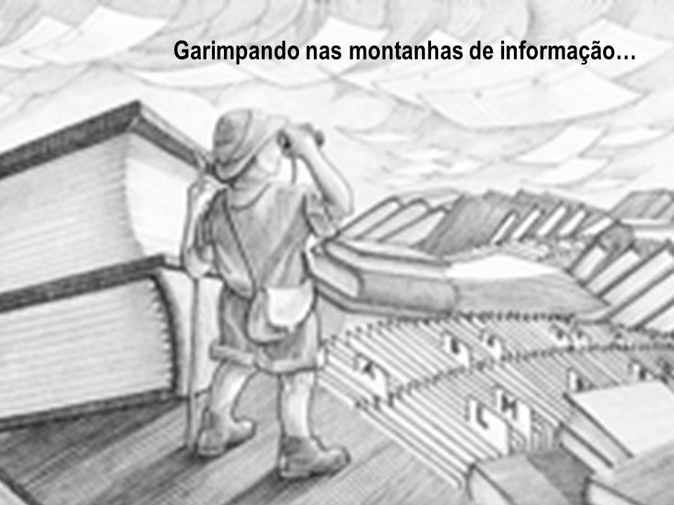 Garimpando nas montanhas de informação…