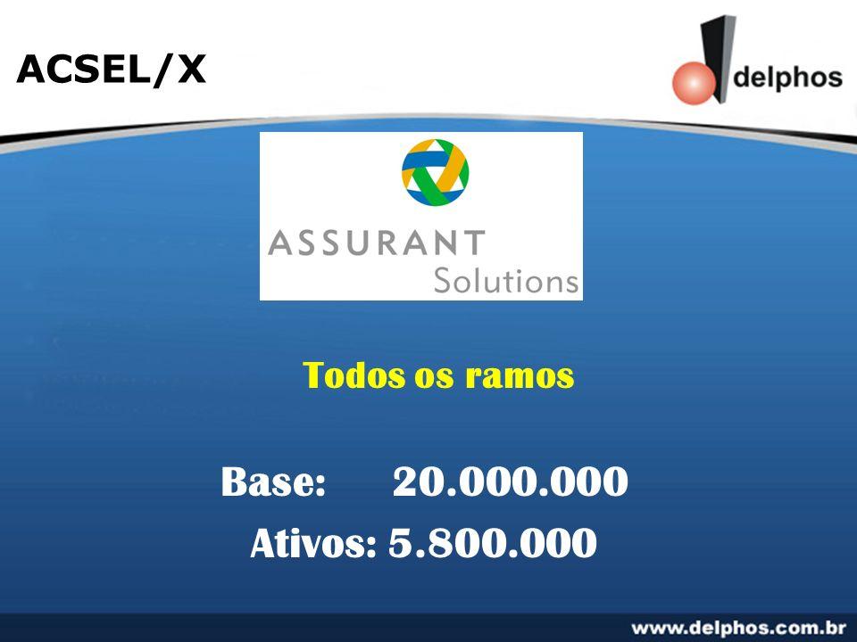 ACSEL/X Todos os ramos Base:20.000.000 Ativos: 5.800.000