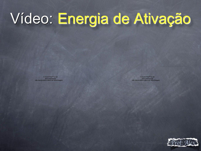 Vídeo: Energia de Ativação