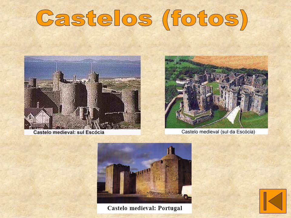 Castelo medieval: Portugal