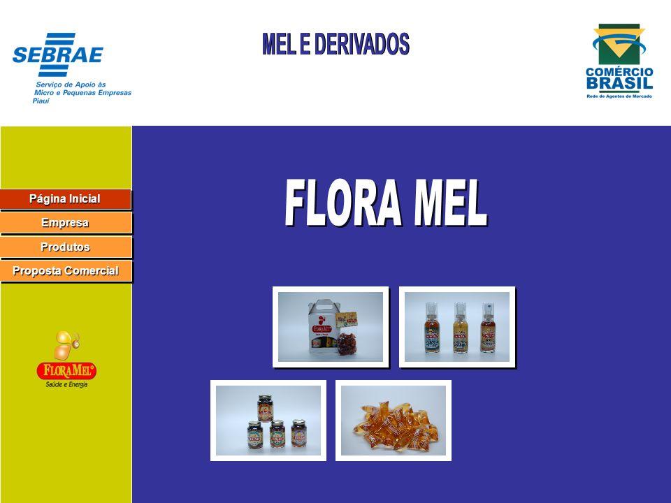 Página Inicial Página Inicial Página Inicial Página Inicial Empresa Produtos Proposta Comercial Proposta Comercial Proposta Comercial Proposta Comercial Razão Social: Floramel Ind.