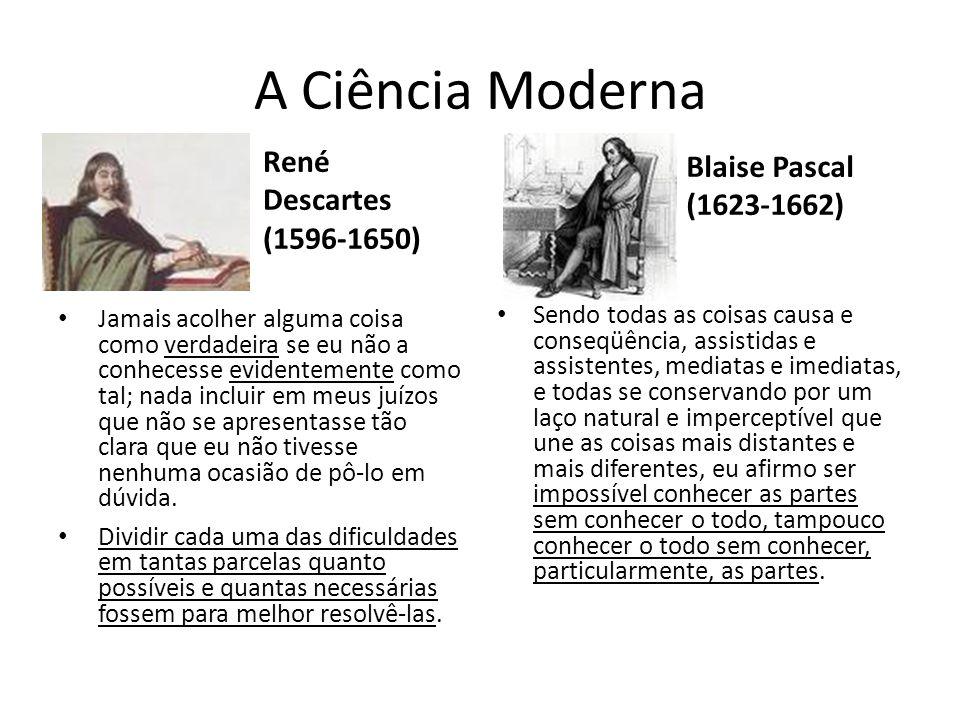 A Ciência Moderna Renascença, efervescência econômica, política e social do Ocidente europeu (séc.