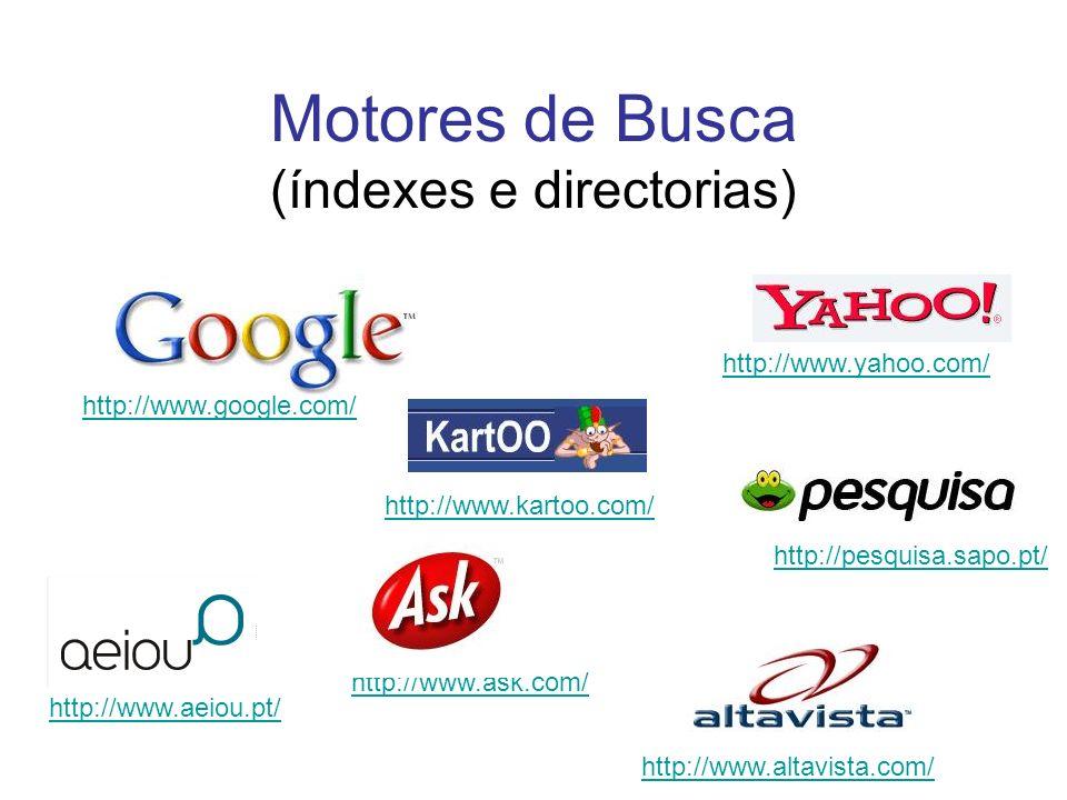 Na Internet Onde encontrar boa informação online.Como avaliar a informação que se encontra.