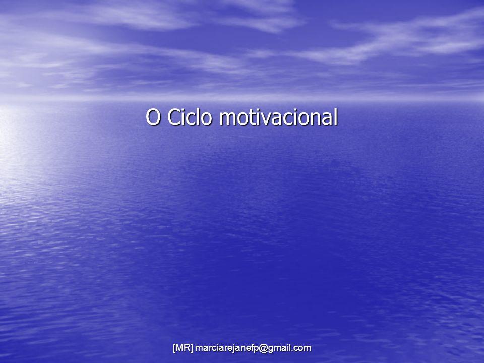 [MR] marciarejanefp@gmail.com O Ciclo motivacional