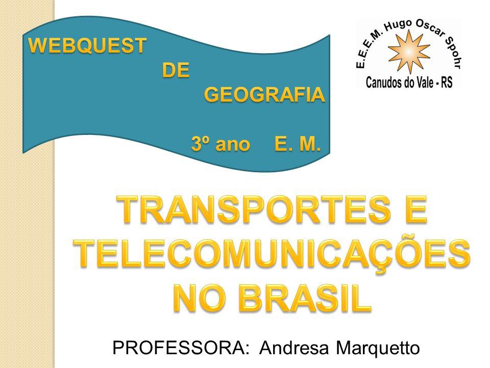 PROFESSORA: Andresa Marquetto