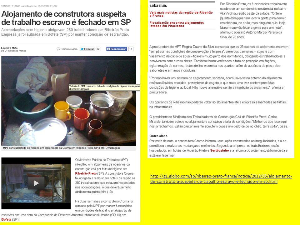 http://g1.globo.com/sp/ribeirao-preto-franca/noticia/2012/05/alojamento- de-construtora-suspeita-de-trabalho-escravo-e-fechado-em-sp.html