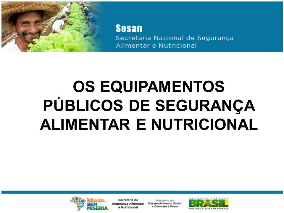 OS EQUIPAMENTOS PÚBLICOS DE SEGURANÇA ALIMENTAR E NUTRICIONAL