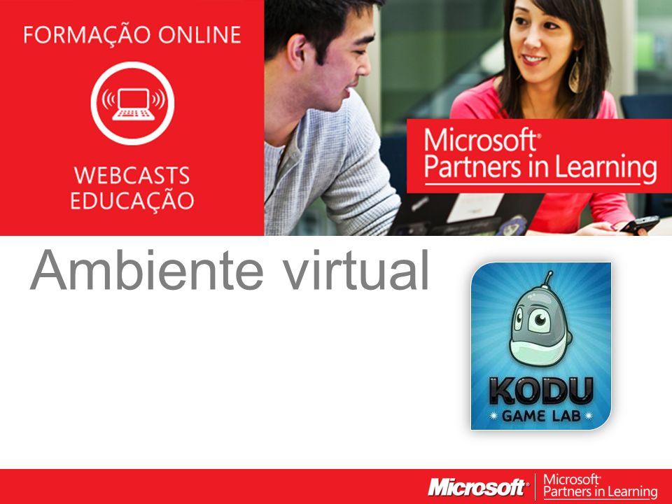 WEBCASTS EDUCAÇÃO 2012 Ambiente virtual