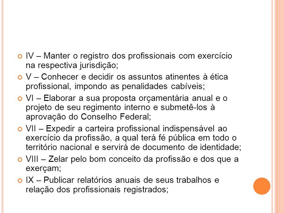 INSCRIÇÃO NO COREN Para o exercício legal da profissão, estão obrigados a inscrição nos Conselhos Regionais de Enfermagem, em cuja jurisdição exerçam suas atividades: Os Enfermeiros, os Técnicos de Enfermagem e os Auxiliares de Enfermagem.