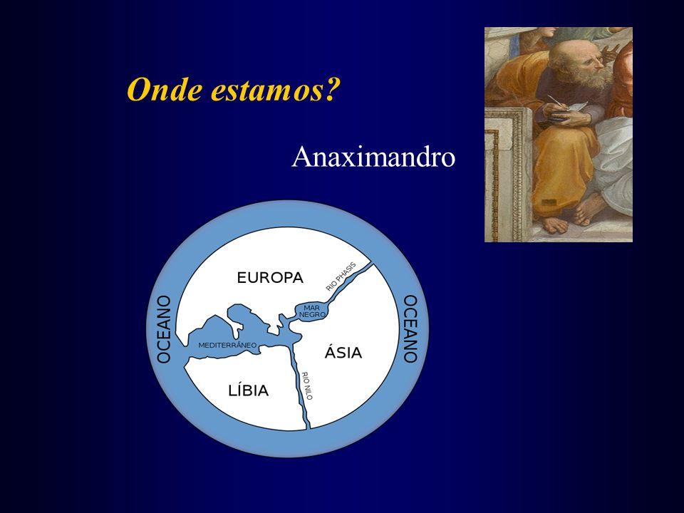 Onde estamos? Anaximandro