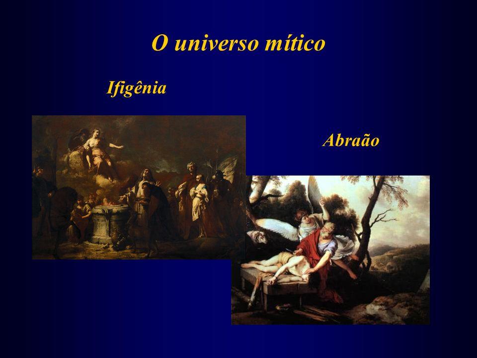 O universo mítico Abraão Ifigênia