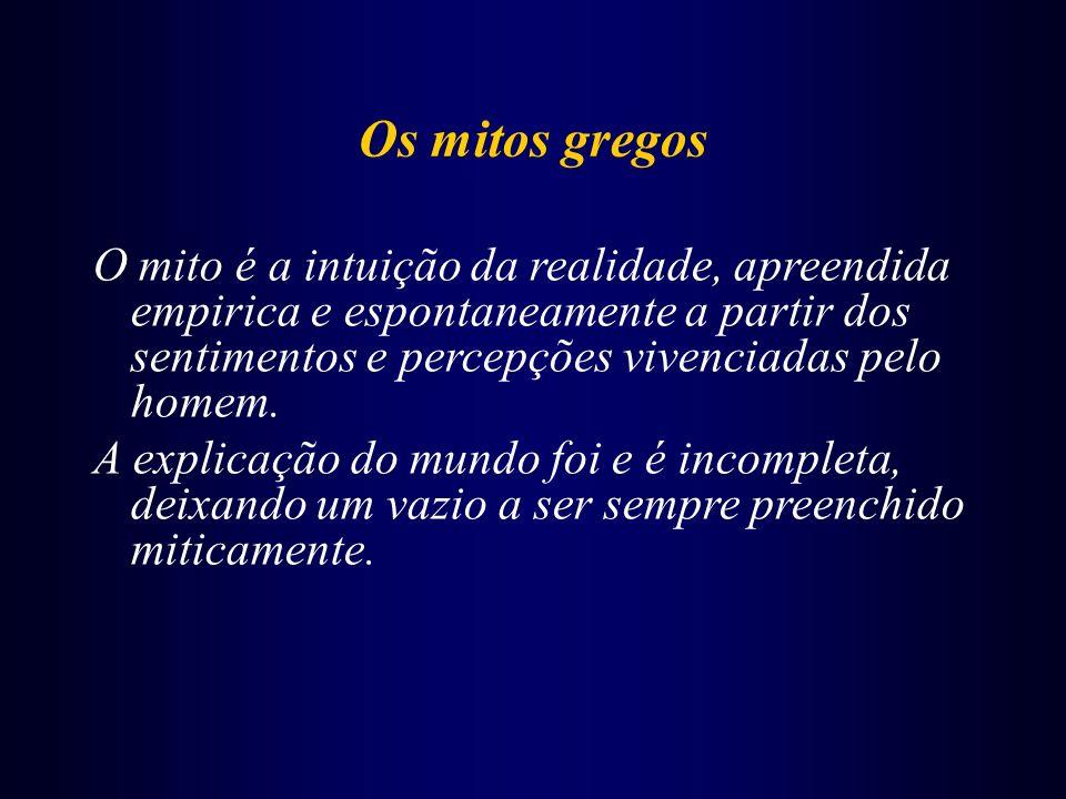 Filosofia grega: 3 momentos... > OS COSMOLÓGICOS