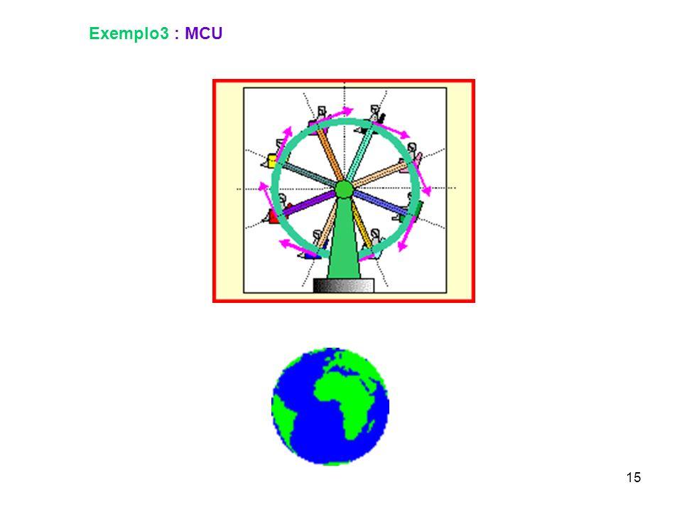 15 Exemplo3 : MCU
