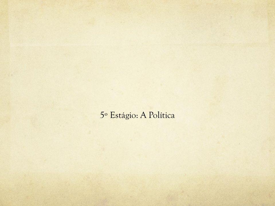 5º Estágio: A Política