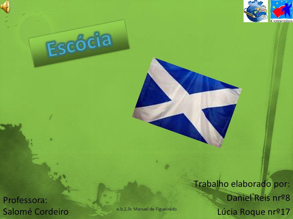 A Escócia pertence ao Reino Unido, localizada na Europa Ocidental.